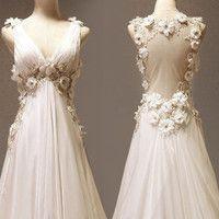 Custom make Vintage Wedding Dress