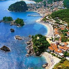 Parga,Greece Vacation Places, Dream Vacations, Vacation Spots, Places To Travel, Travel Destinations, The Places Youll Go, Places To See, Greek Town, Karpathos Greece