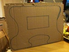 1000 images about meuble carton on pinterest cardboard. Black Bedroom Furniture Sets. Home Design Ideas