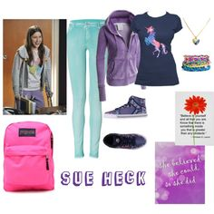 Designer Clothes, Shoes & Bags for Women Jansport, Juicy Couture, Shoe Bag, Polyvore, Stuff To Buy, Faith, Outfits, Shopping, Collection