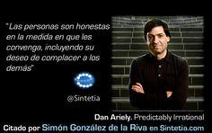 Dan Ariely las personas son honestas...si conviene