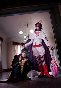 kaya as Mephisto Pheles  of Ao no Exorcist