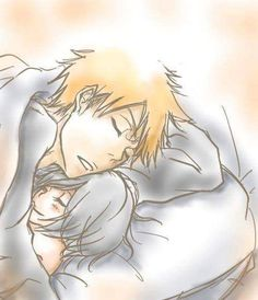 Image uploaded by Find images and videos about anime, bleach and Ichigo on We Heart It - the app to get lost in what you love. Ulquiorra And Orihime, Bleach Ichigo And Rukia, Kuchiki Rukia, Bleach Anime, Cute Anime Pics, Cute Anime Couples, Geeks, Mega Anime, Bleach Couples