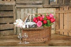Cesta de picnic especial San Valentín