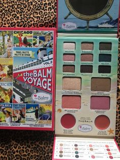 The Balm Voyage Vol. 2 Eye and Face Palette - New In Sleeve  | eBay