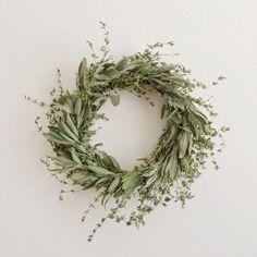 poppyquinn: DIY herbal wreath