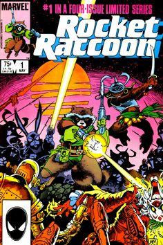 Rocket Raccoon vol 1 #1 | Cover art by Mike Mignola & Al Gordon