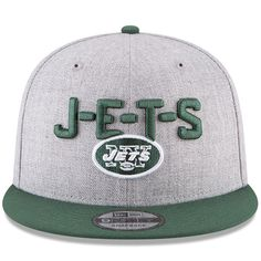 d9d0aa407b7 Show love for the Jet s with the new 2018 NFL Draft line up! CapSwag.