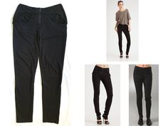 """T by ALEXANDER WANG """"COOL CASUAL LUXE"""" STRETCH-PANTS LEGGINGS SWEATPANTS $135 M in Clothing, Shoes & Accessories, Women's Clothing, Pants 