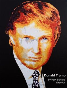 How a Univision anchor found the missing portrait that Trump bought with his charity's money