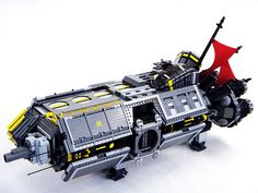 This is an amazing LEGO spaceship