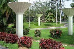 water tower rainwater harvesting system