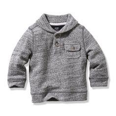 Baby Boys' Button Pullover | Boy Tops | Baby | JOEFRESH.COM