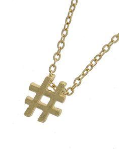 Gold Tone Metal / Lead&nickel Compliant / # Pendant / Necklace