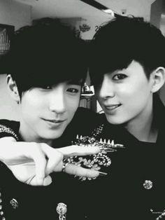 <3 Min Woo and Dong Hyun <3 Beautiful boys <3