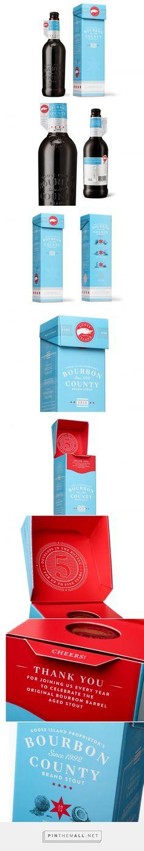 Goose Island Proprietor's Bourbon County Brand Stout on Behance - https://www.behance.net/gallery/33149159/Goose-Island-Proprietors-Bourbon-County-Brand-Stout