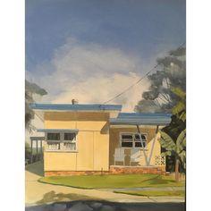 Surf Shack, Beach Shack, Beach Cottages, Beach Houses, Beach Stores, Mid Century Exterior, Suburban House, Mid Century Art, Good House