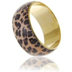 Manumit Fair Trade Leopard Print Bracelet ($15) ❤ liked on Polyvore featuring jewelry, bracelets, accessories, pulseras, animal print, women, leopard bangle, bangle bracelet, stacking bangles and leopard bangle bracelet
