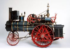 This is 1/4 scale model build by Ernest Hedlund mostly from memory. Donated to Kansas Museum of History through generosity of Ernest's daughter. http://www.kshs.org/museum