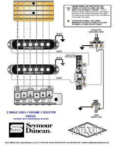 Getting all the strat tones with 2 humbuckers how to wire on doug aldrich pickup wiring diagram 2 Pickup Guitar Wiring Gibson Humbucker Pickup Wiring