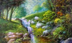 Pinturas que me gustan: Jorge Maciel ,colores de la naturaleza,el mar...
