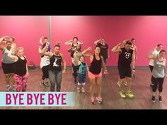 *NSYNC – Bye Bye Bye (Dance Fitness with Jessica) Video Description Throwback song! Here's a fun dance fitness routine to *NSYNC's « Bye Bye Bye. Zumba Fitness, Senior Fitness, Dance Fitness, Dance Workout Videos, Dance Videos, Dance Exercise, Dance Workouts, Line Dance, Dance Choreography