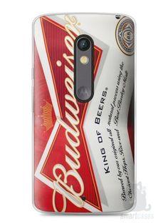 Capa Capinha Moto X Play Cerveja Budweiser