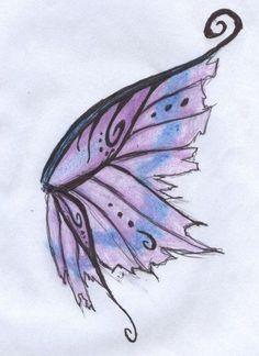 Fairy Tattoo, Tattoos, Fairy Wing Tattoos, Color Tattoo, Back Tattoo, Wings Drawing, Wings Tattoo, Fairy Wings Drawing, Tattoo Designs