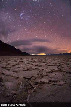 Death Valley National Park, an International Dark Sky Park thanks to its world-class stargazing opportunities (one of just only a handful of national parks with this designation). Love this photo by Tyler Nordgren.