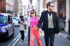 London Fashion Week Street Style 2012