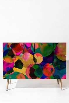Amy Sia Rainbow Spot Credenza | DENY Designs Home Accessories