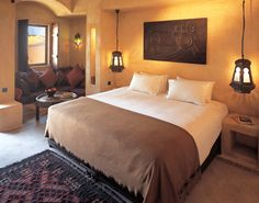 Bab Al Shams Desert Resort and Spa is an elegant retreat in a traditional Arabic setting. Only 45 minutes from Dubai the resort is rising among the desert sand dunes like a mirage.