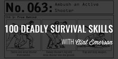 Unfortunately, in society today, your ability to survive has become more important than it ever has. Whether you're dealing with an active-shooter, a natural disaster, or a medical emergency, your likelihood of having to think on your feet will likely become a reality. And, as my guest, Navy SEAL Clint