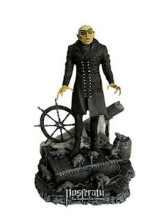 Nosferatu model kit sculpted by Staffan Linder