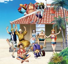 One piece shared by アニメ(anime) on We Heart It One Piece Crew, One Piece World, One Piece 1, Sanji One Piece, Anime One Piece, One Piece Fanart, Zoro And Robin, Nico Robin, Monkey D Luffy