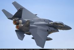 Singapore Air Force Boeing F-15SG Strike Eagle.