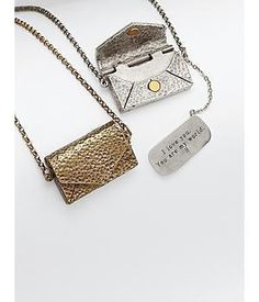 Personalizable Vintage Love Letter Necklace - anniversary gift