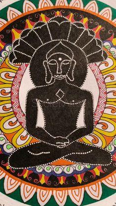 Mandala Doodle, Mandala Drawing, Easy Drawings For Kids, Drawing For Kids, Japanese Calligraphy, Islamic Calligraphy, Crochet Mandala, Flower Mandala, Black Buddha