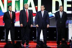 Kneel Before Trump, You GOP Debaters