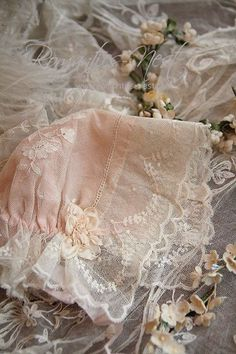 Antique Lace, Vintage Lace, Vintage Sewing, Baby Bonnets, Lady Grey, Linens And Lace, Christening Gowns, Heirloom Sewing, Lace Ribbon
