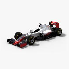 3D Haas Vf 16 - 3D Model