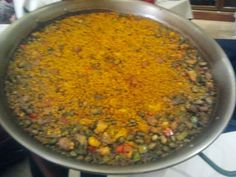 Arroz magro y verduras del Restaurante Valencia Once (alicante) http://www.mis-recetas.org/establecimientos/ver/786-restaurante-valencia-once