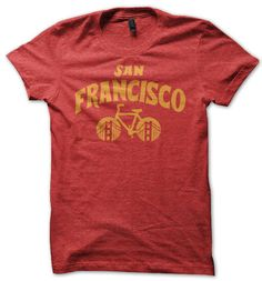 Ride San Francisco Bicycle Tee – Pedal Pushers Club