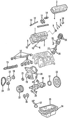 Spare Parts Diagram Dometic Truma E2400 Gas Heater