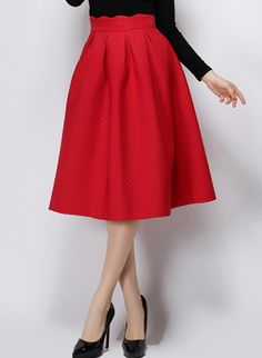 Shop Red High Waist Plaid Skirt online. SheIn offers Red High Waist Plaid Skirt & more to fit your fashionable needs.