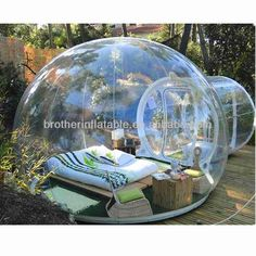 2014 hot sale inflatable clear bubble tent for camping
