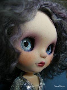 Black Blythe Doll Curly Hair | blythe dolls