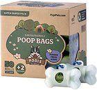 Pogi's Poop Bags - 50 Rolls (750 Bags) +2 Dispensers - Large, Earth-Friendly, Scented, Leak-Proof Pet Waste Bags