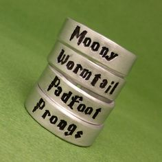 Harry Potter Inspired - Choose ONE - Moony, Wormtail, Padfoot or Prong