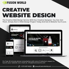 Website Design Services, Website Designs, Creative Web Design, Web Design Projects, Responsive Web Design, Fragrance, Product Launch, Graphic Design, Phone